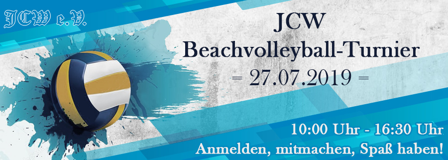Beachvolleyball-Turnier 2019